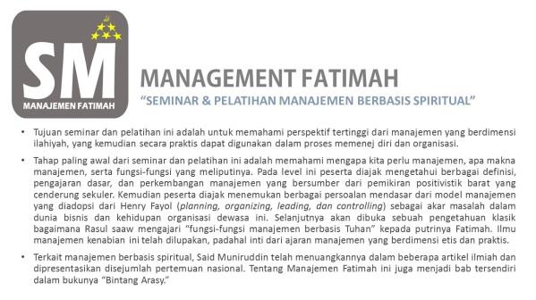 6_Management Fatimah