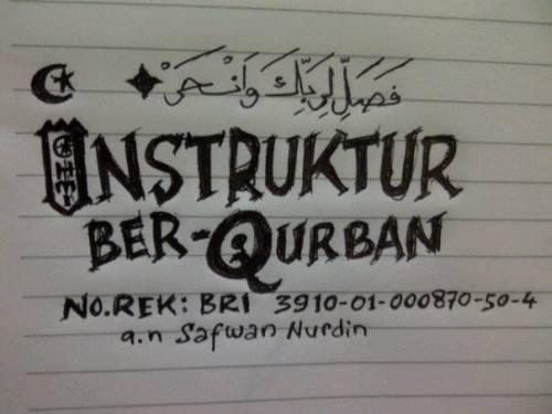 Rekening Green-Black on Qurban_24.9.15