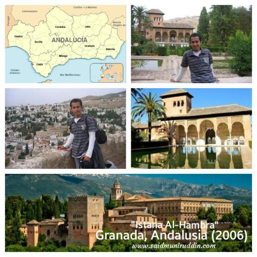 """""""Istana Al-Hambra"""", Granada - Andalusia (Said Muniruddin, 2006)."""