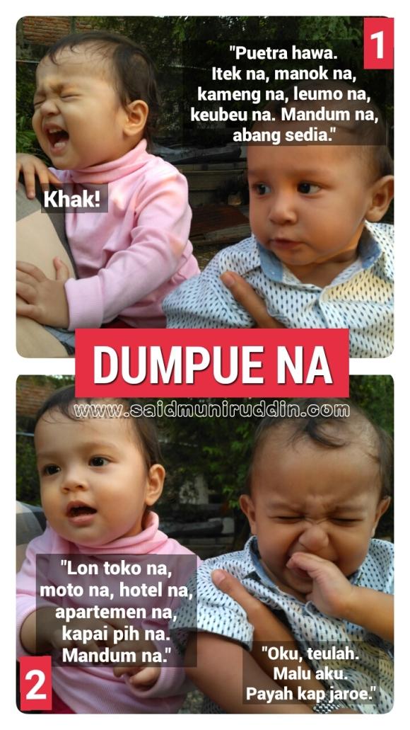 """""""DUMPUE NA"""". - Habib Ahmad Rumöh Raya."""